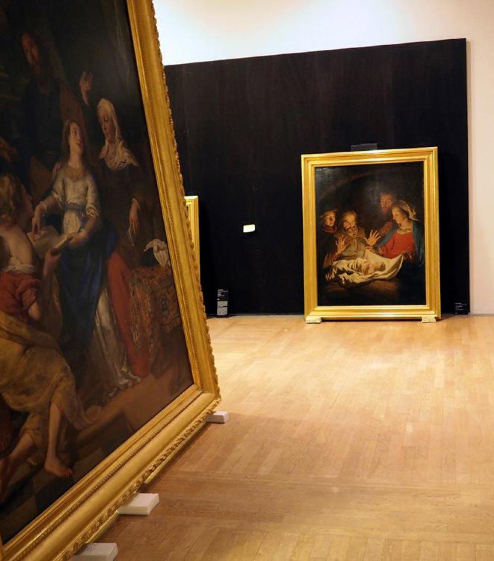 Communication exposition Flamands & Hollandais - chateau nantes