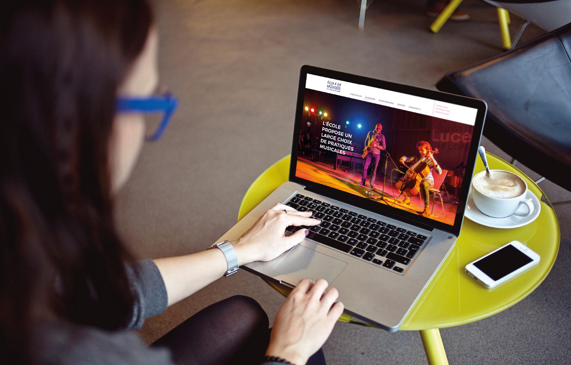 Identité visuelle école de musique
