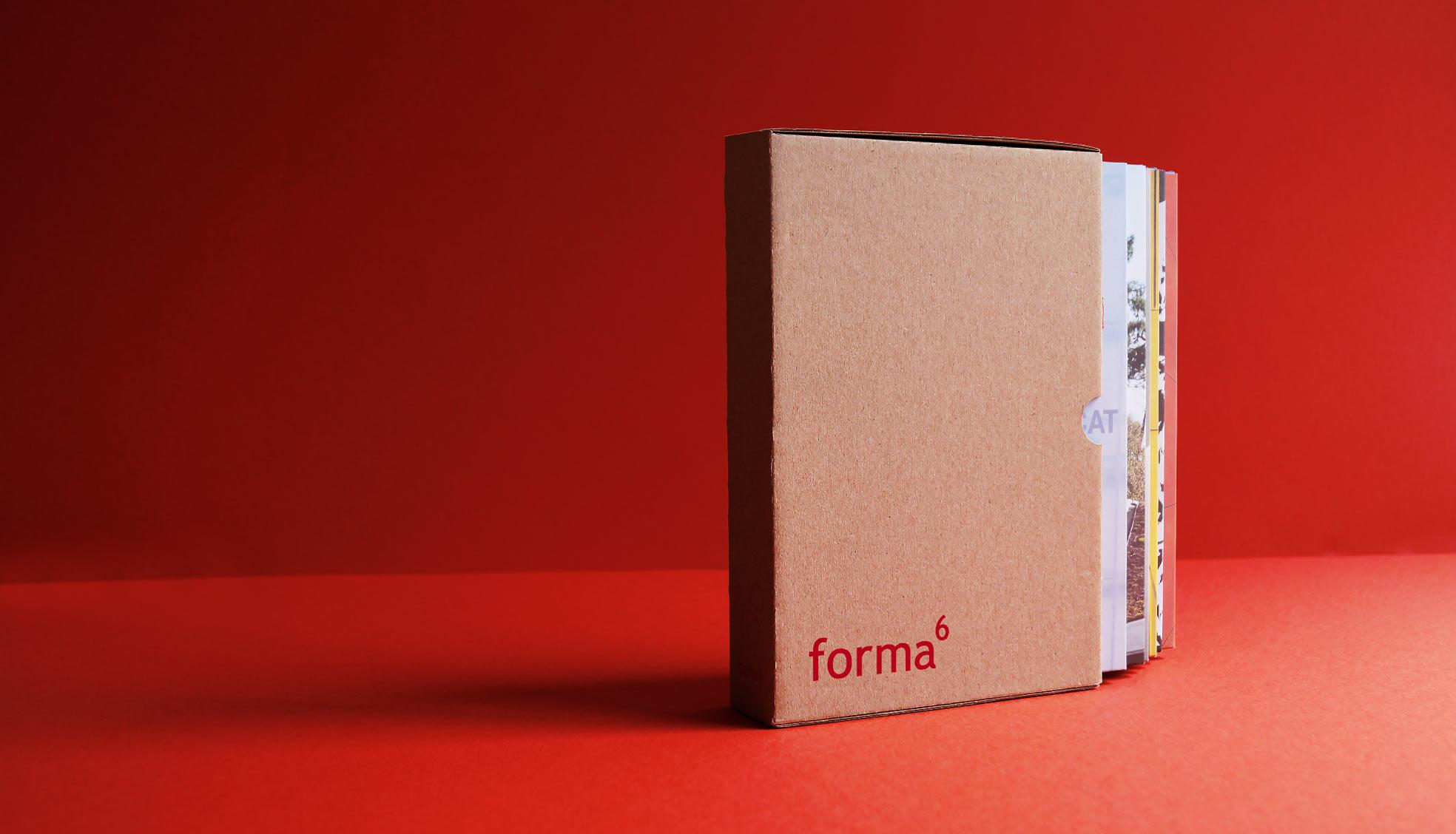 Dépliants création coffret forma6