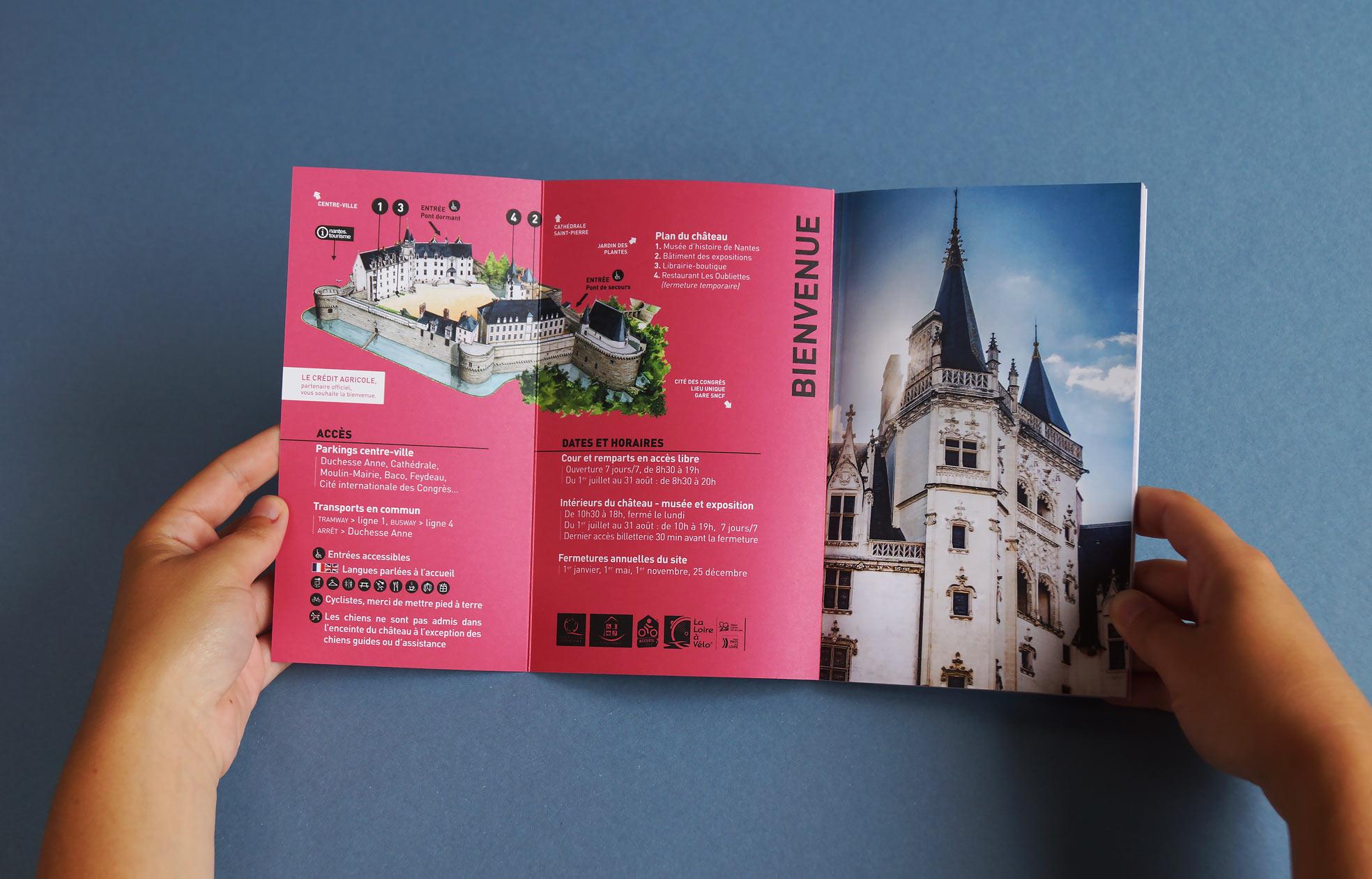 Création programme culturel chateau nantes