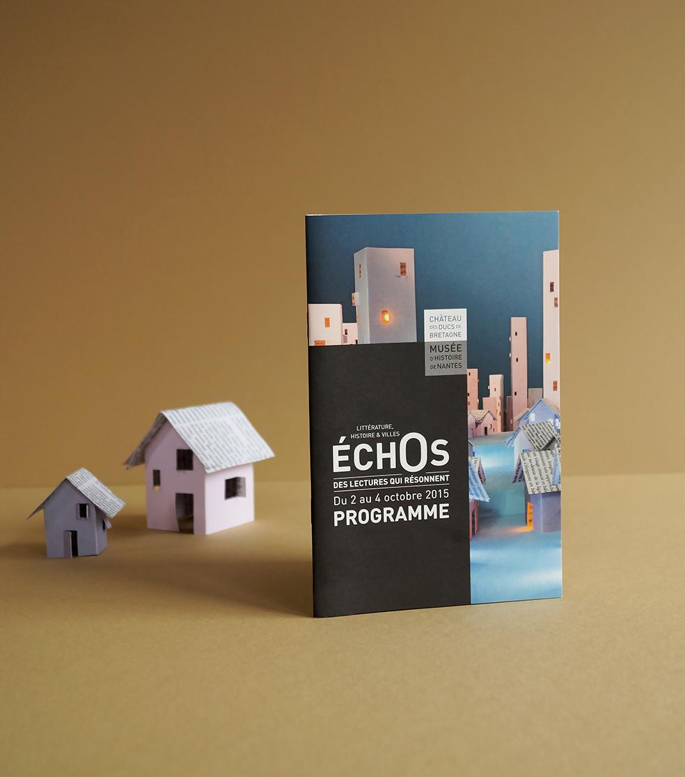 Echos affiche chateau nantes