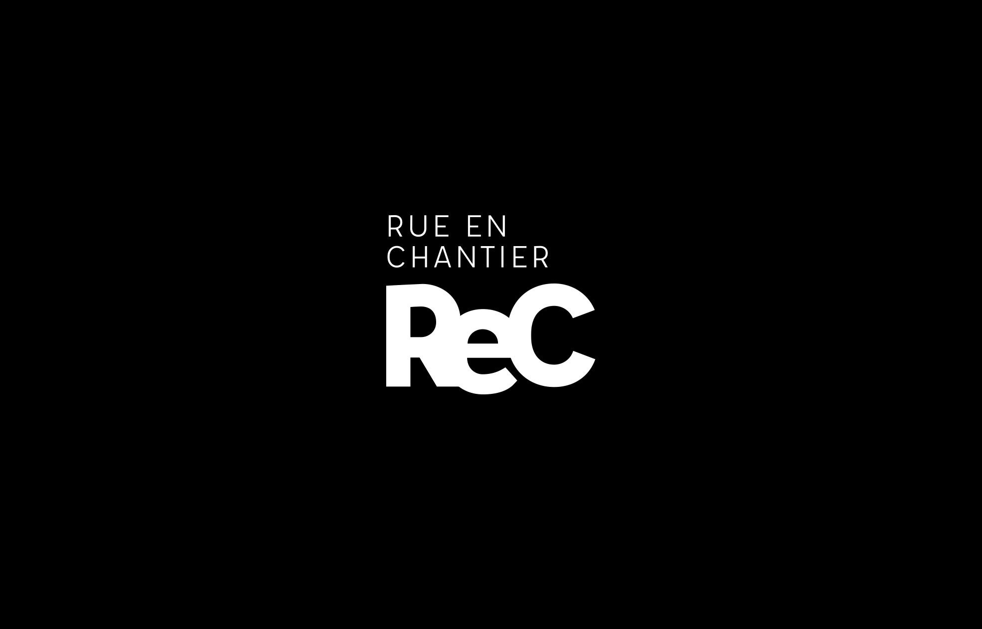 Identité visuelle Rue en Chantier