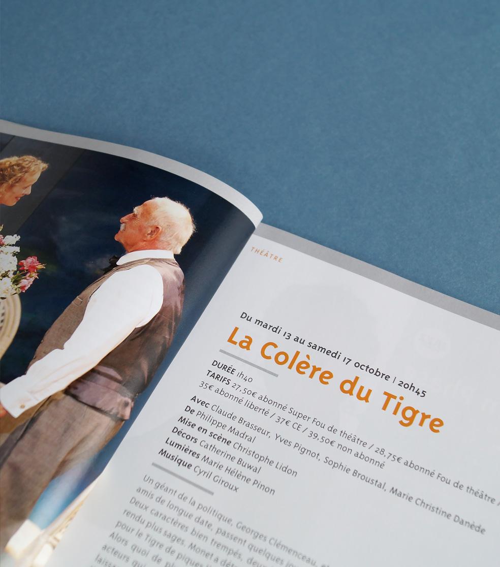 Affiche théâtre Fleuriaye