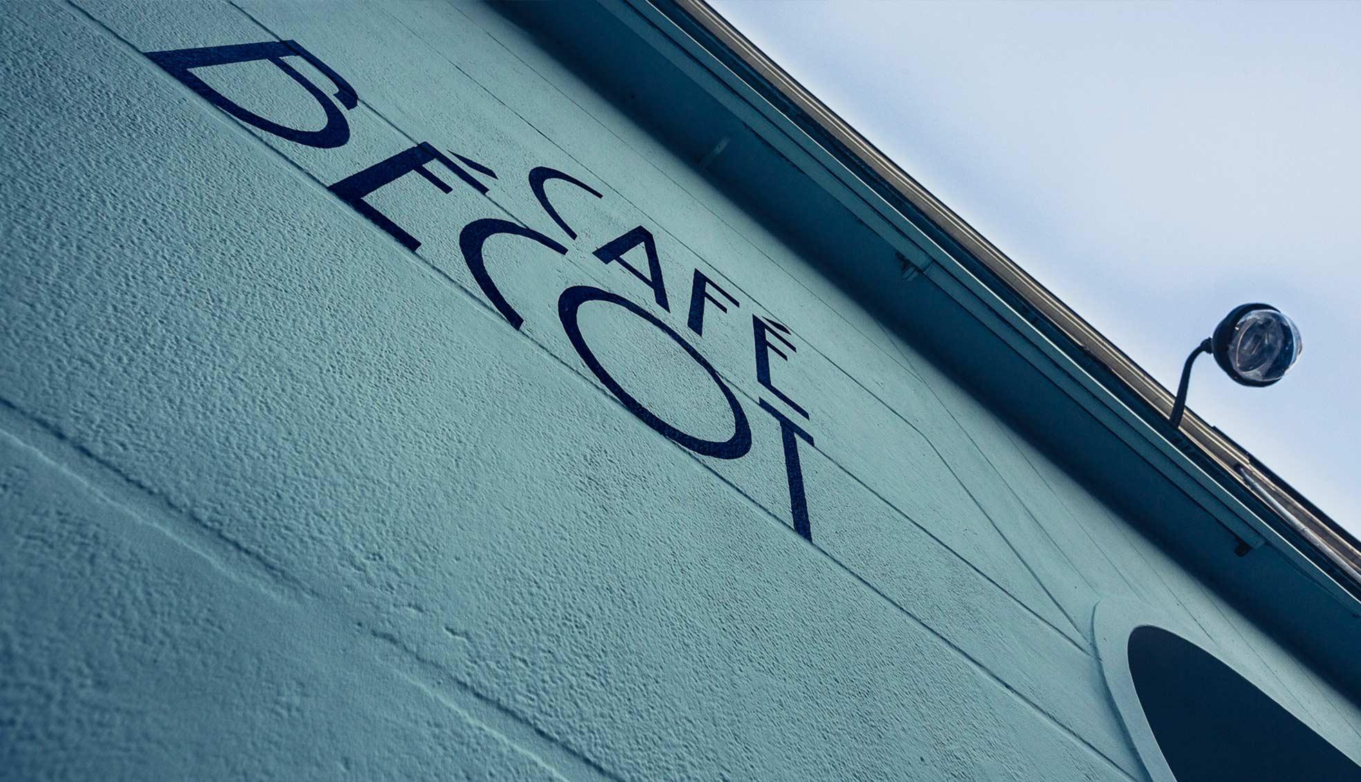 Coffeeshop identité café bécot
