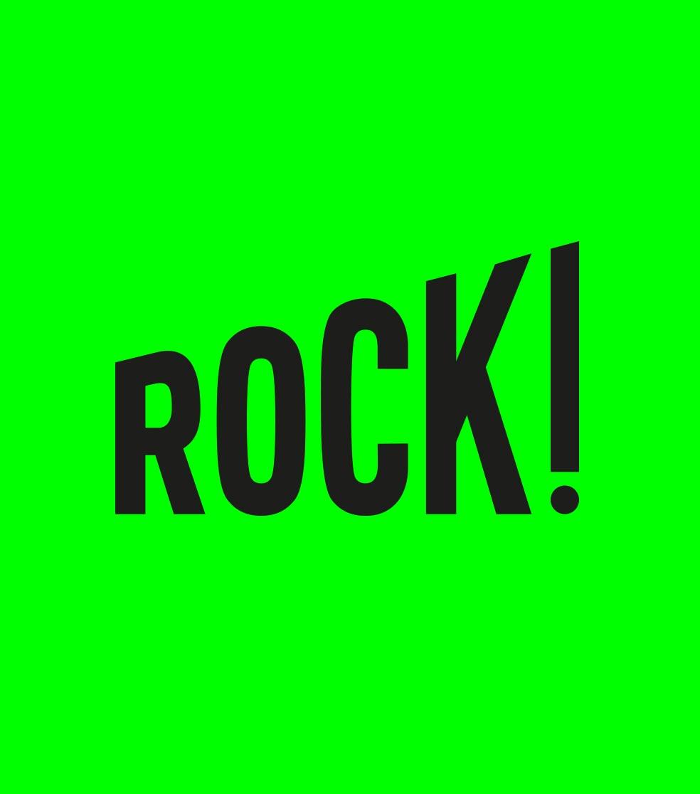 Exposition Rock! création affice