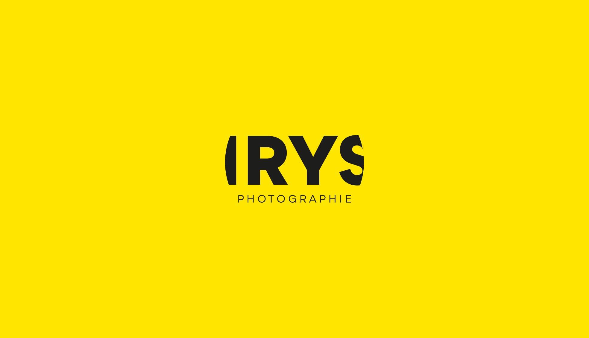 Irys-photographie-création-logo