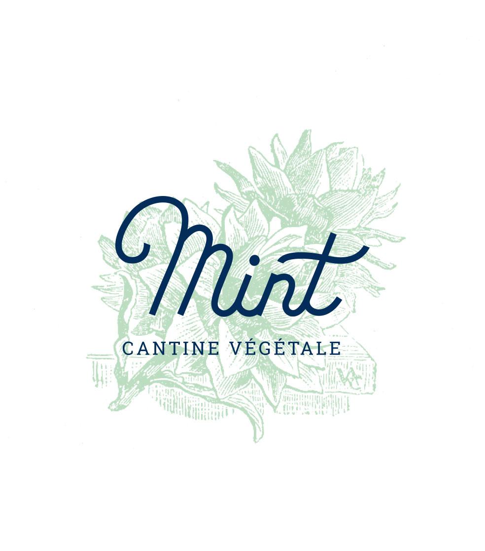 restaurant végé nantes création logo